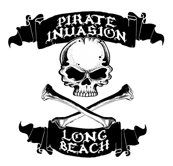 pirate invasion long beach logo