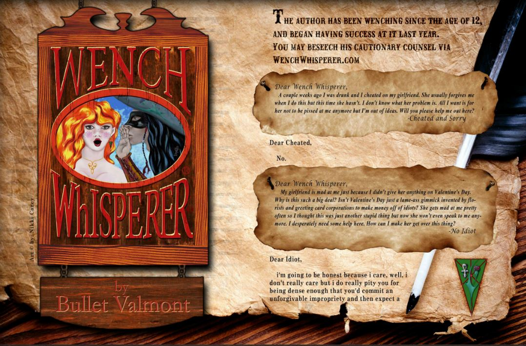 wench whisperer bullet valmont mutiny magazine issue 2
