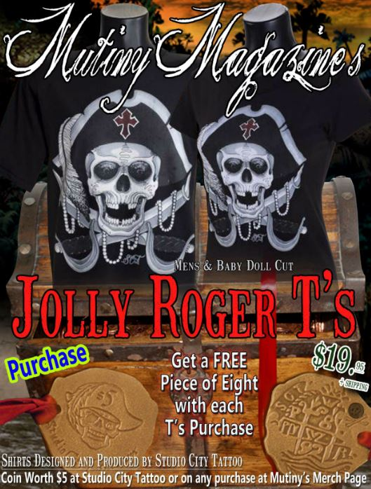 Jolly rogers Tshirt for sale